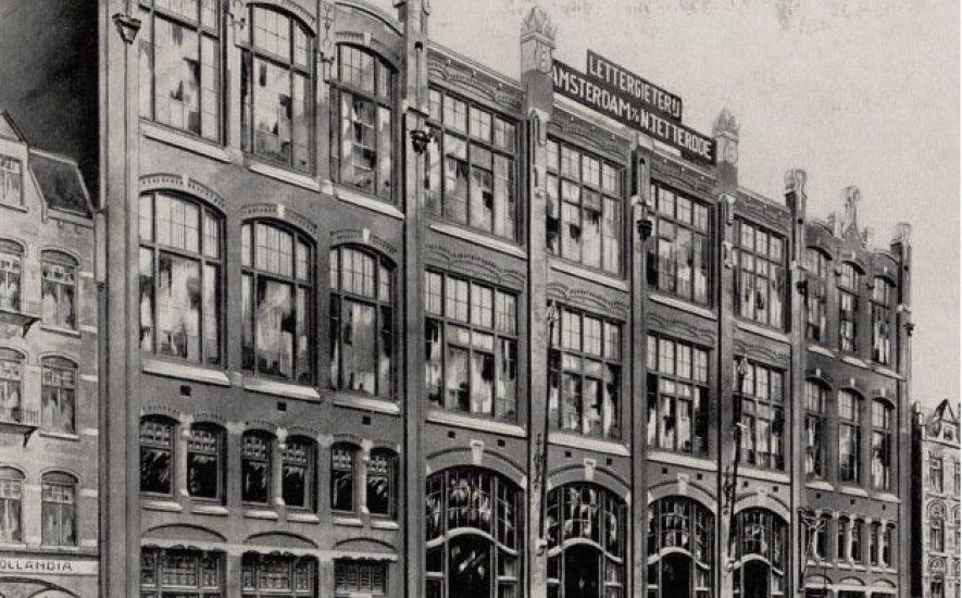1912-Lettergieterij Amsterdam, voorheen N. Tetterode