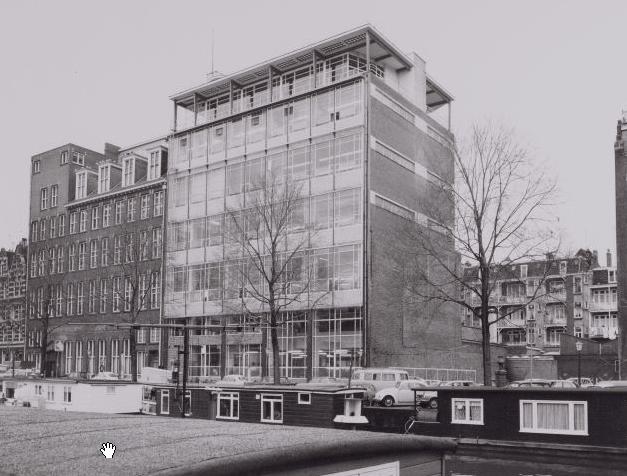 Tetterode-Nederland NV_04_24 jan. 1974_achterzijde DaCostakade_Merkelbachgebouw