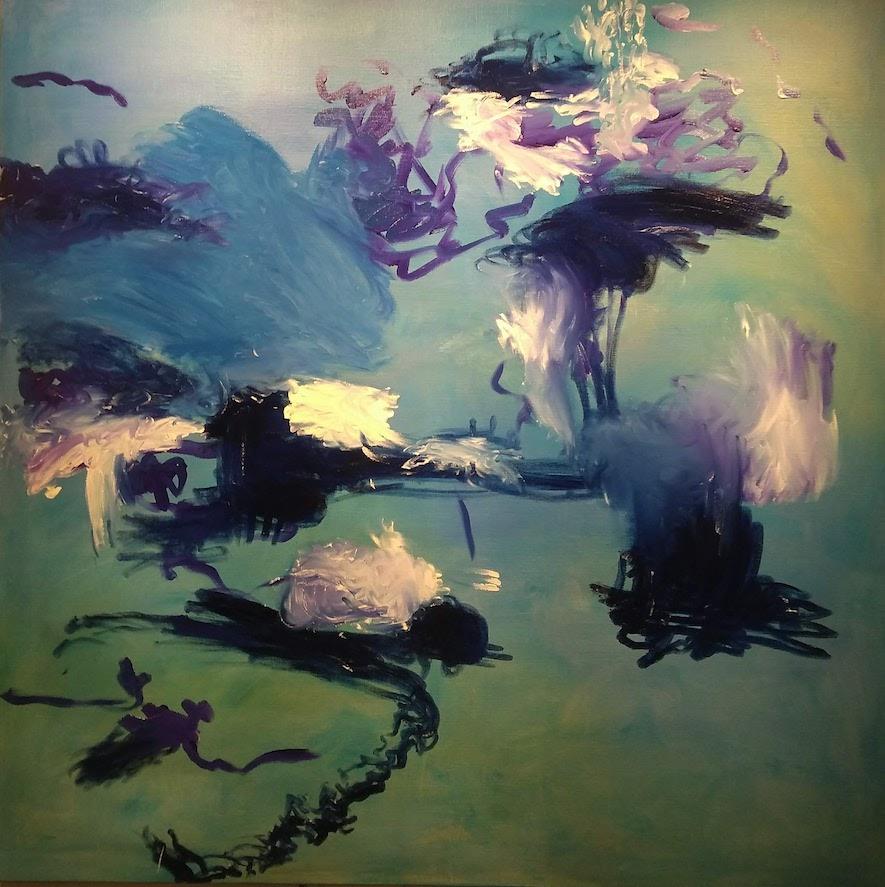 Wandana schilderij 885