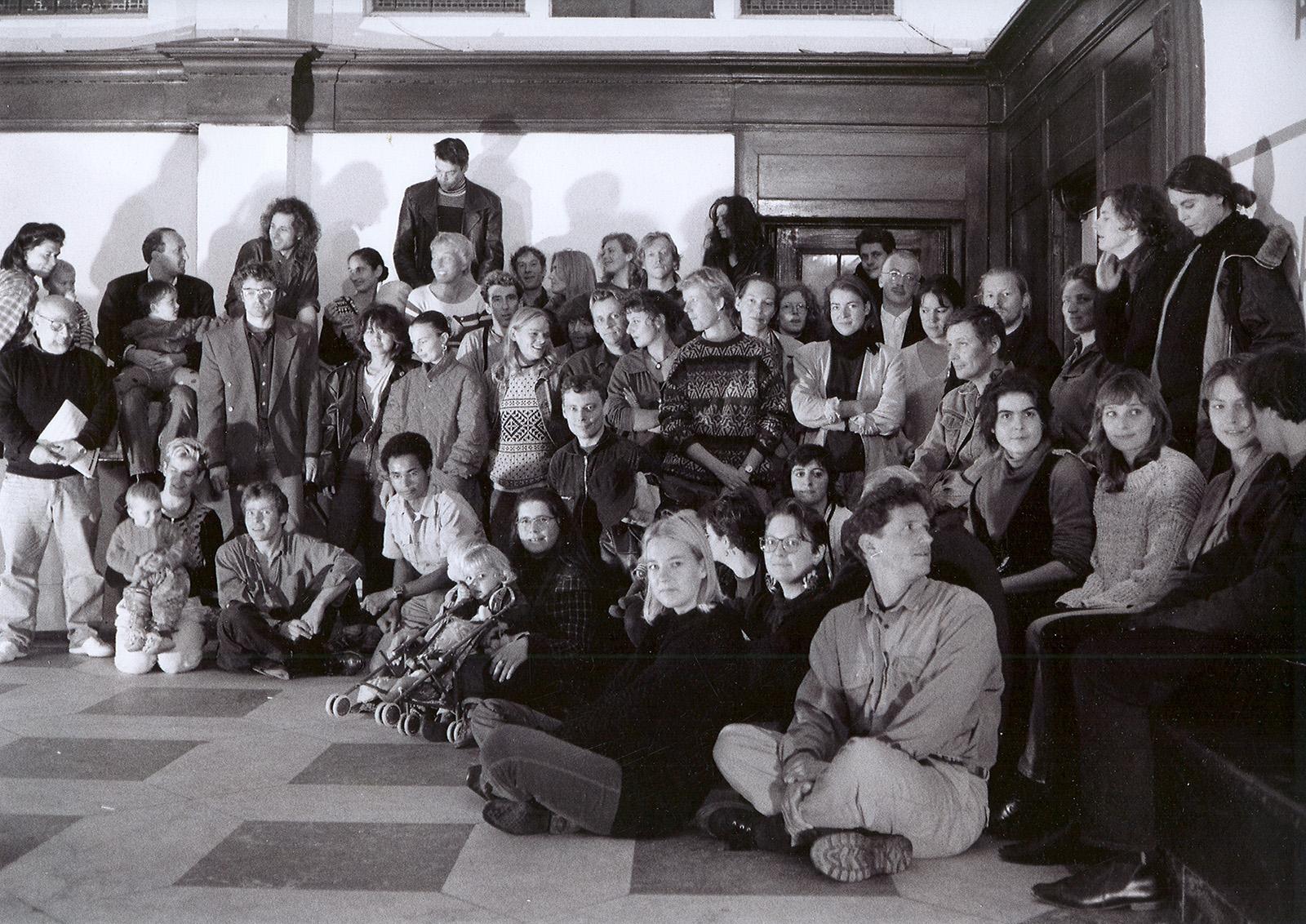 De vereniging Ruimschoots in 1993